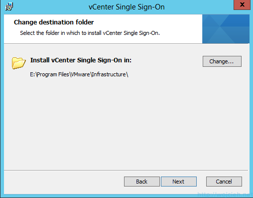 vCenter Single Sign-On Installation 9