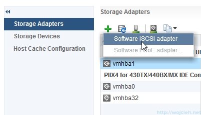 iSCSI Software Adapter configuration 2