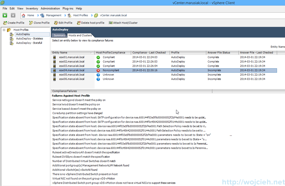 VMware vSphere Auto Deploy - PowerCLI advanced 3