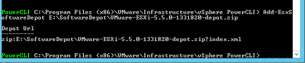 VMware vSphere Auto Deploy Software Depot Powercli - 1