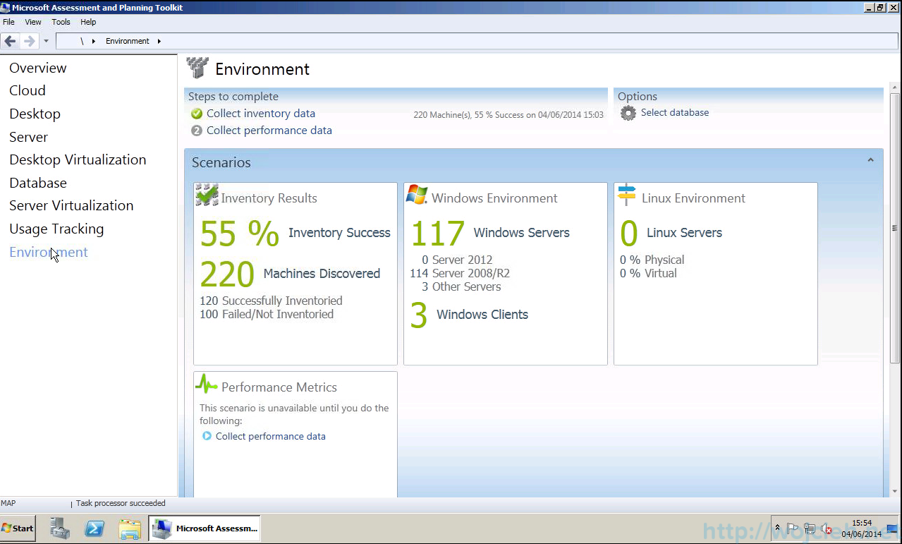 Microsoft Assesment and Planning Tollkit 20