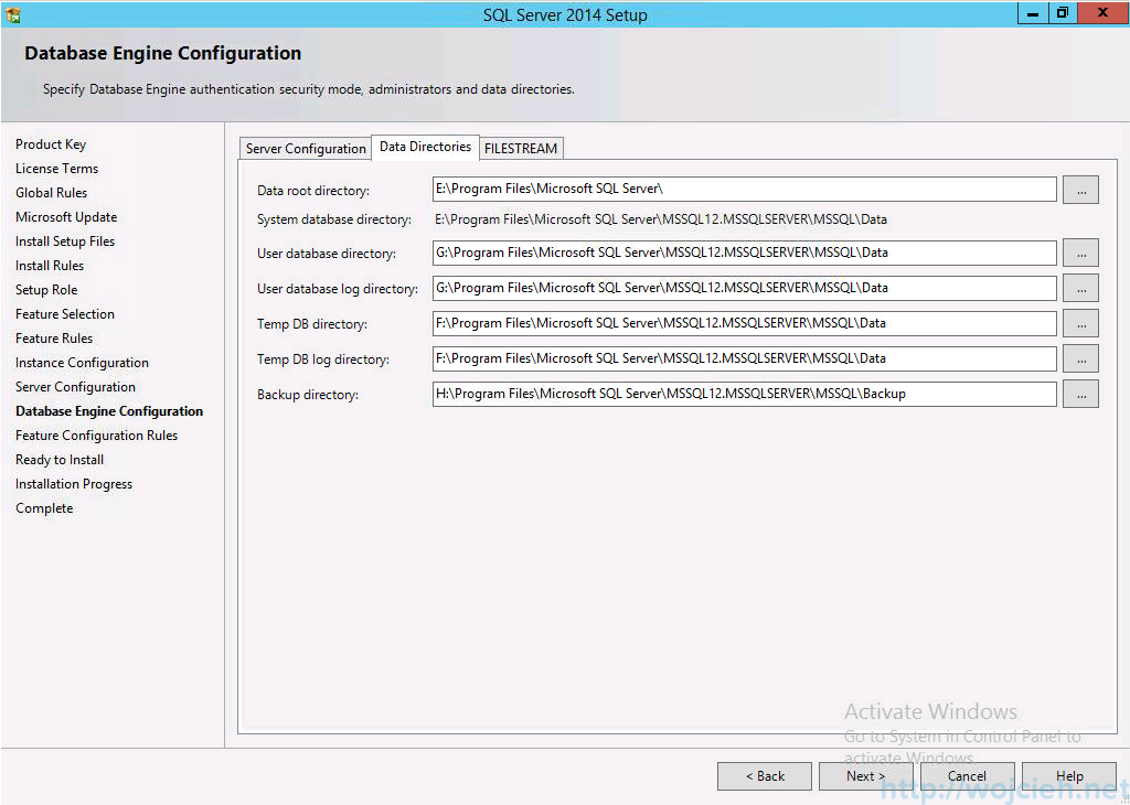 vCenter 5.5 on Windows Server 2012 R2 with SQL Server 2014 - 16
