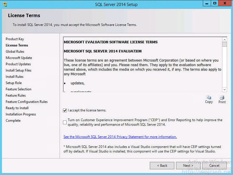 vCenter 5.5 on Windows Server 2012 R2 with SQL Server 2014 - 5