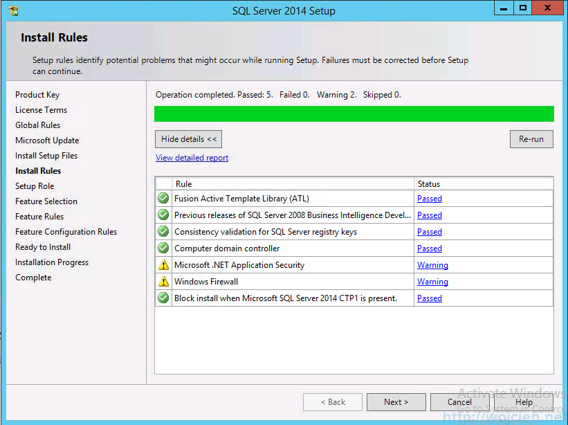 vCenter 5.5 on Windows Server 2012 R2 with SQL Server 2014 - 7