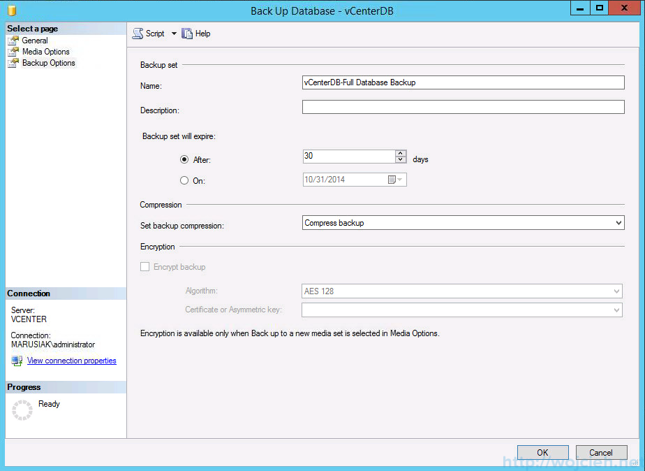 vcenter 5.5 on windows server 2012 r2 with sql server 2014 part 2 - 13