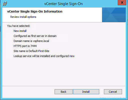 vCenter 5.5 on Windows Server 2012 R2 with SQL Server 2014 – Part 3 - 11