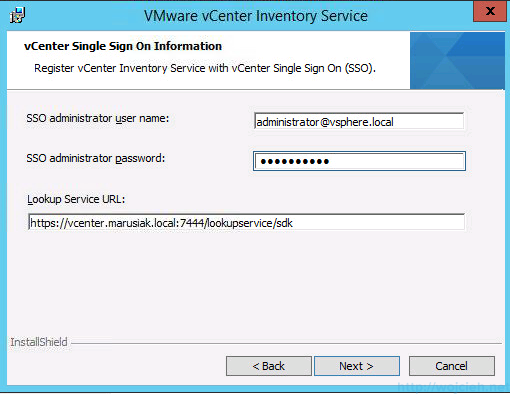 vCenter 5.5 on Windows Server 2012 R2 with SQL Server 2014 – Part 3 - 28