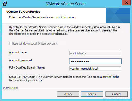 vCenter 5.5 on Windows Server 2012 R2 with SQL Server 2014 – Part 3 - 39