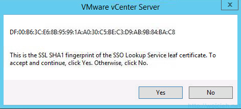 vCenter 5.5 on Windows Server 2012 R2 with SQL Server 2014 – Part 3 - 44