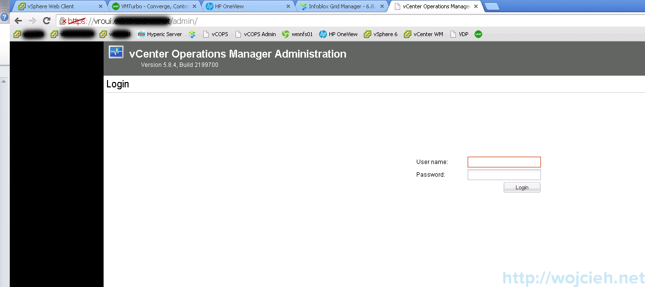 VMware vRealize Operations Manager - Configuration 2