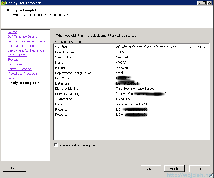 VMware vRealize Operations Manager - Installation 14