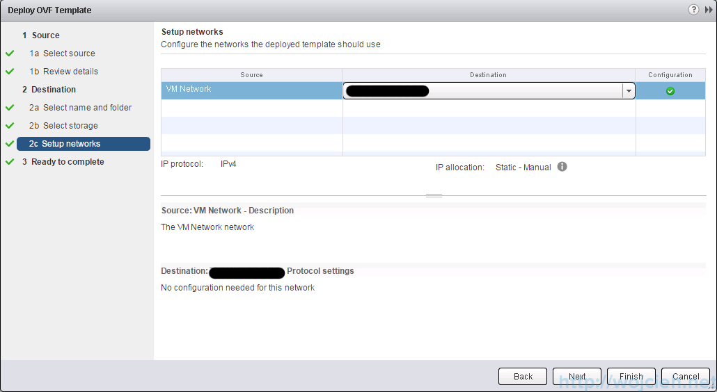 Deploying OVF template using vSphere Web Client - 8