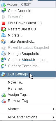 Enable vFlash Read Cache on Virtual Machine - 1