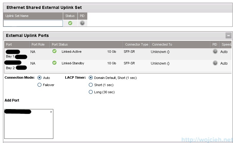 HP Virtual Connect Module Configuration - Networking 3