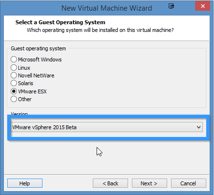 Installing VMware ESXi 6.0 in VMware Workstation 11 - 5
