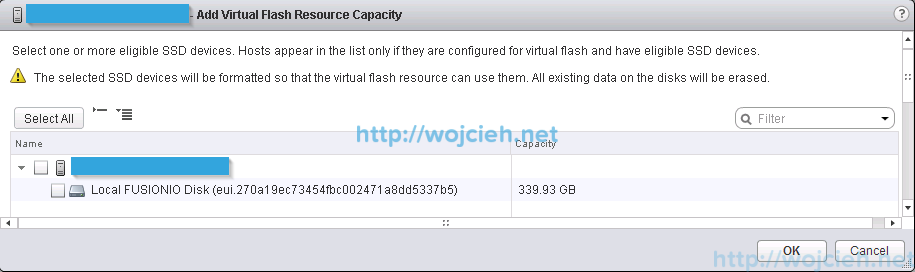 VMware vFlash Read Cache configuration and performance test - 2