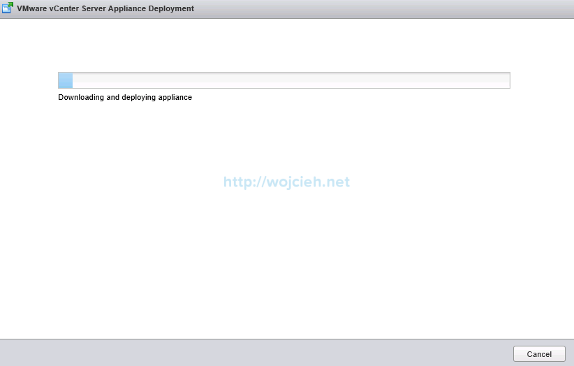 Upgrade vCenter Server Appliance from version 5 to version 6 - 14