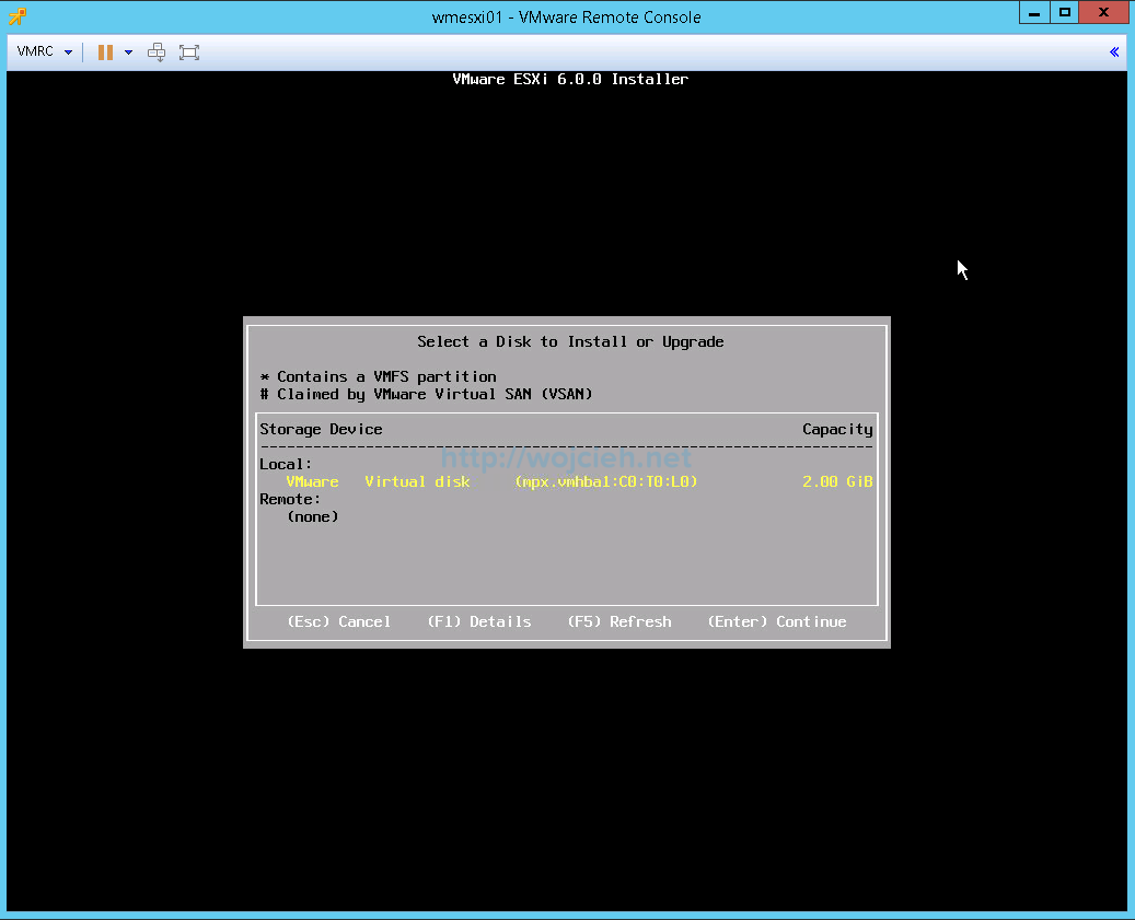 Upgrade VMware ESXi 5. to 6.0 Part 1 – Interactive Upgrade - 5
