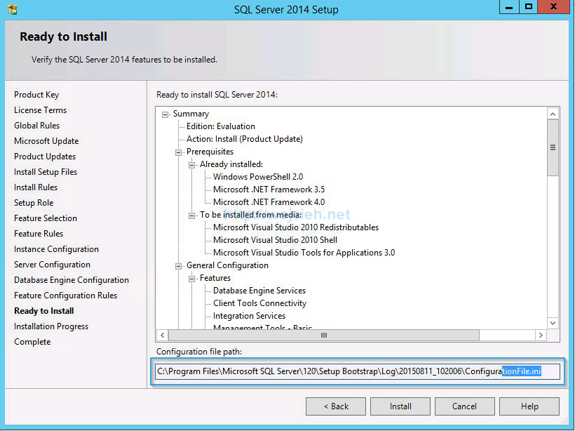 VMware vCenter Server 6 on Windows Server 2012 R2 with Microsoft SQL Server 2014 - 15