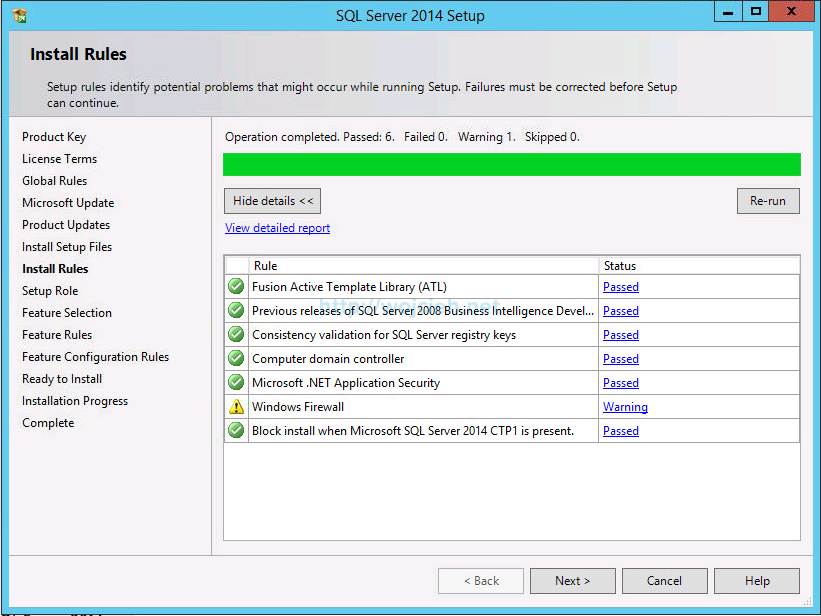 VMware vCenter Server 6 on Windows Server 2012 R2 with Microsoft SQL Server 2014 - 6