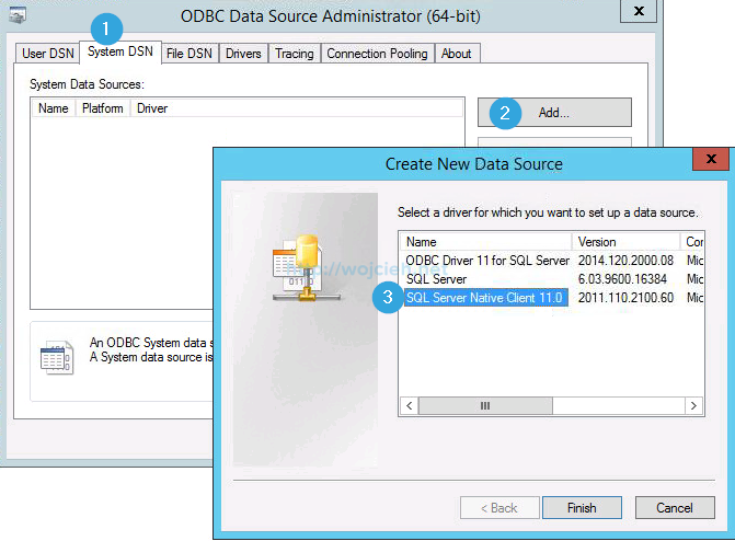 Connect to a sql server data source (sql server import and export.