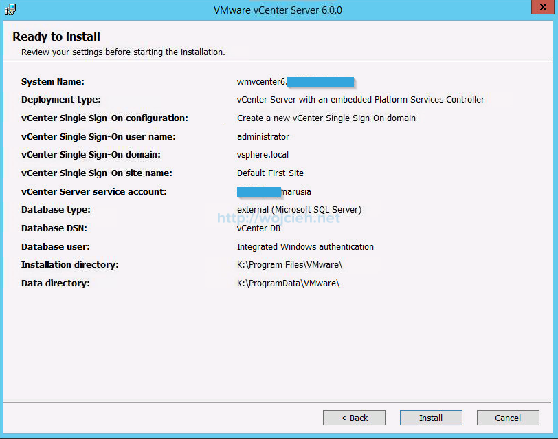 VMware vCenter Server 6 on Windows Server 2012 R2 with Microsoft SQL Server 2014 - Part 3 - 12