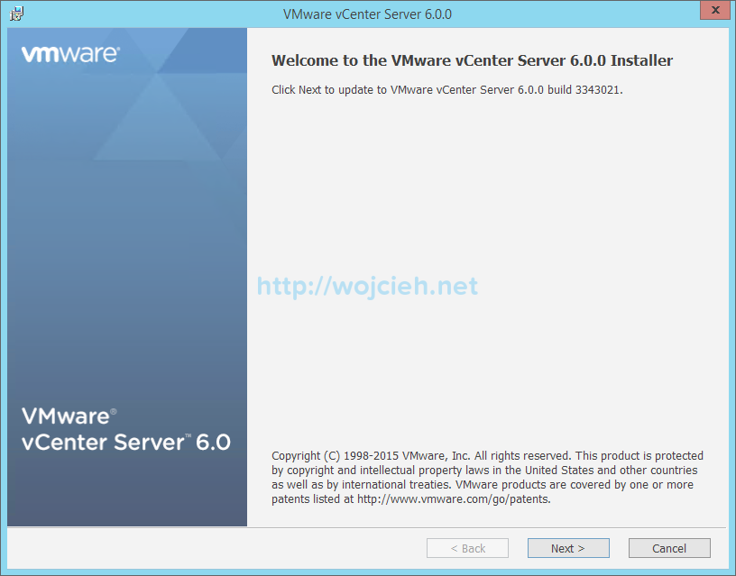 vCenter Server 6. Upgrade - 3