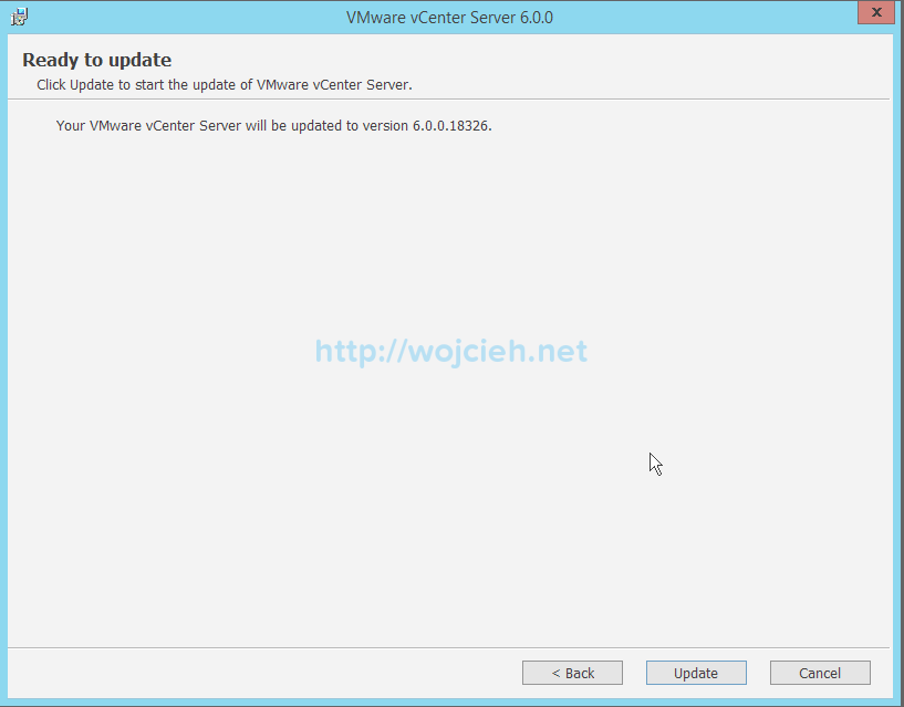vCenter Server 6. Upgrade - 5