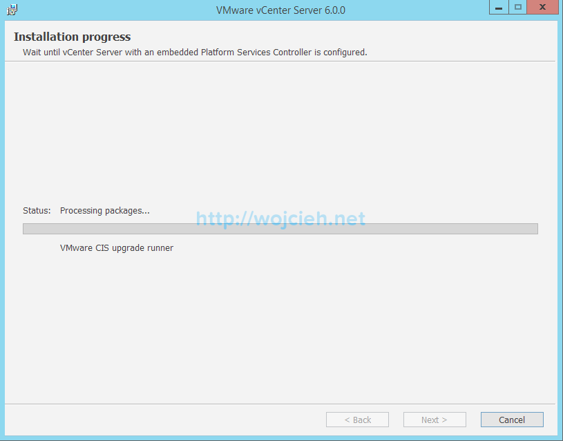 vCenter Server 6. Upgrade - 6