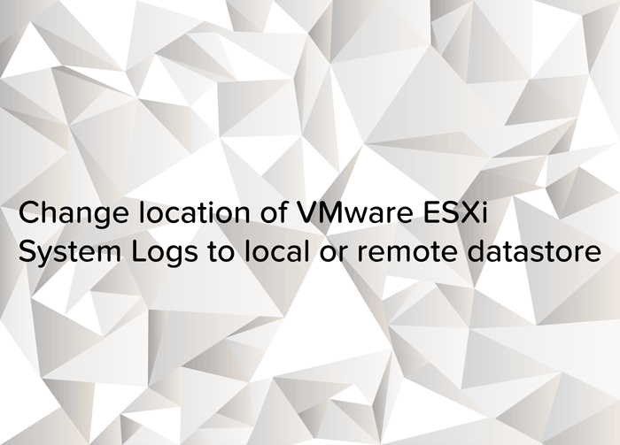 Change location of VMware ESXi System Logs to local or remote datastore - logo (1)