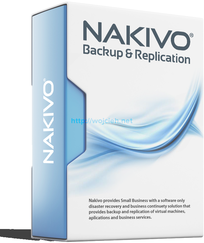 Nakivo Back Up & Replication v6 review - Logo
