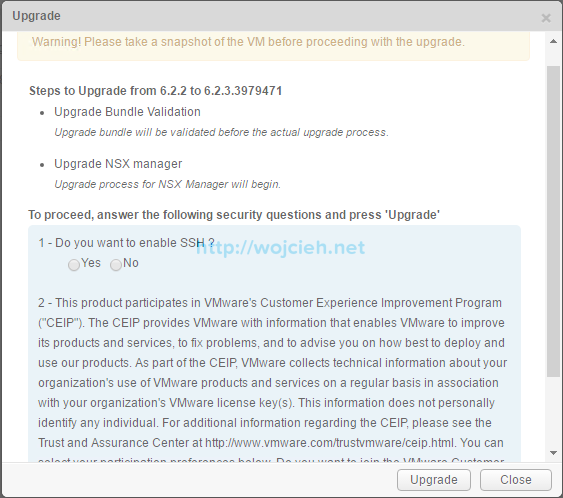 NSX Upgrade - Step by step - 4