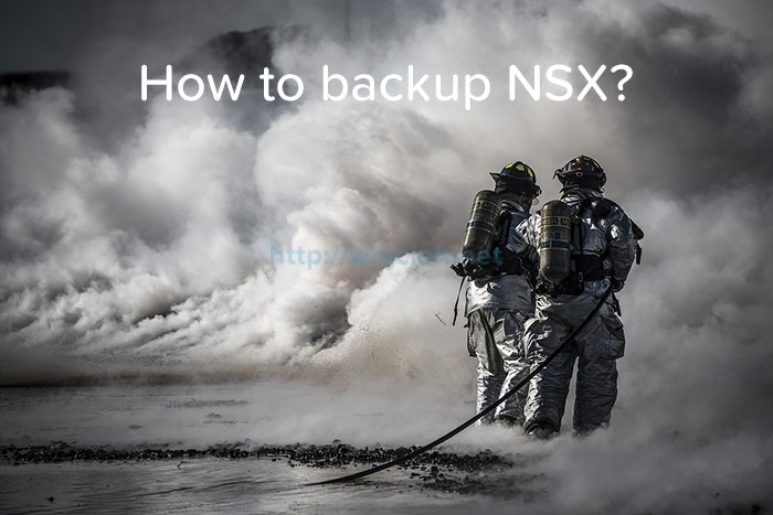 How to backup NSX - logo