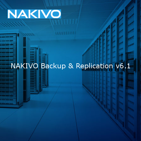Nakivo Backup&Replication v6.1 - Logo