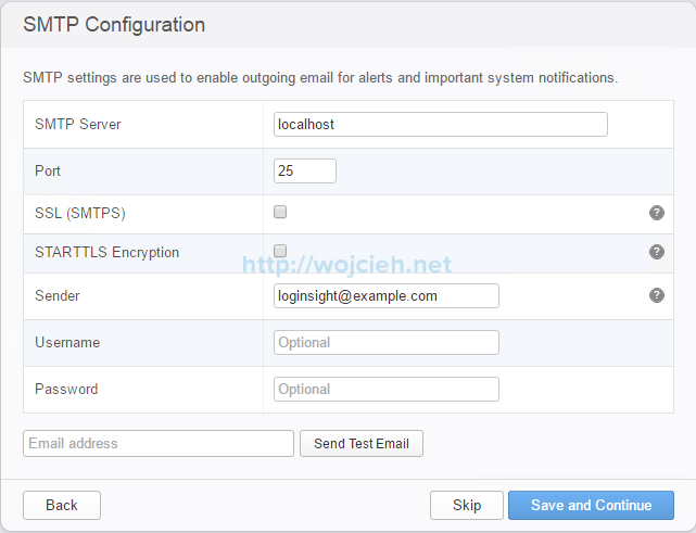 VMware vRealize Log Insight - Installation and Configuration - 16