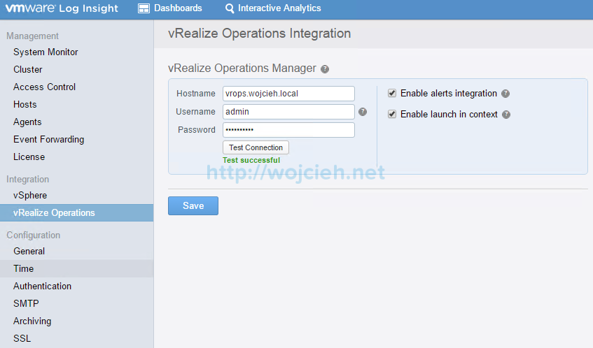 VMware vRealize Log Insight - Installation and Configuration - 29