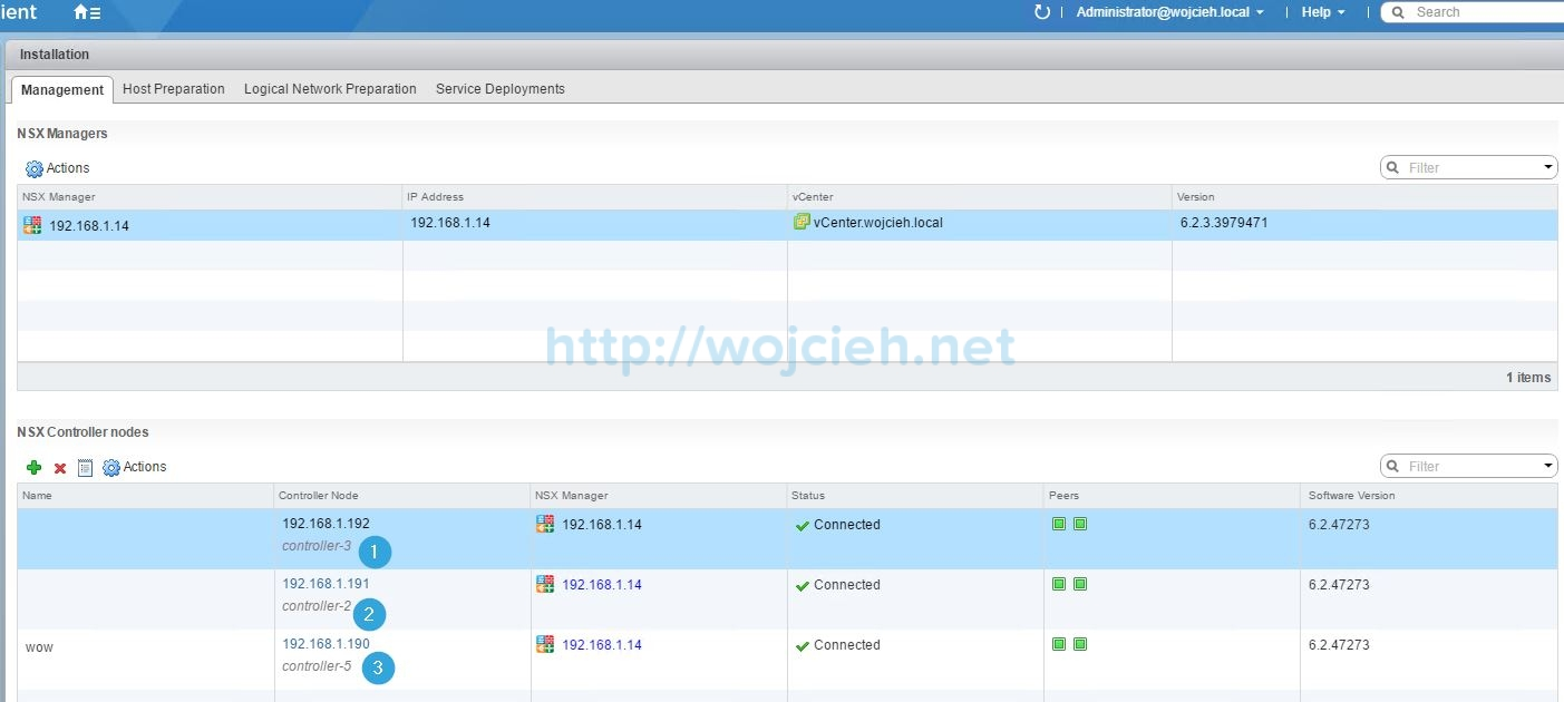 Configuring Syslog server for VMware NSX components - 6