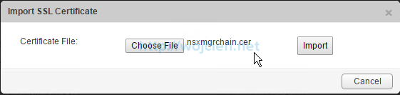 How to replace NSX Manager SSL Certificate - 6