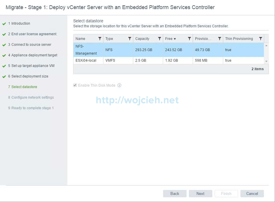 Upgrade of vCenter Server 6.x to vCenter Server 6.5 - 11