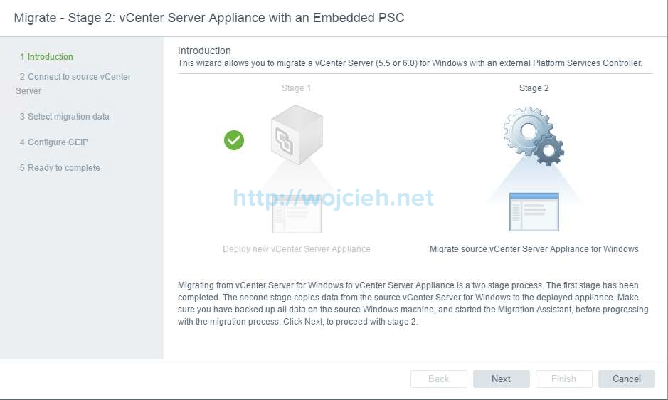 Upgrade of vCenter Server 6.x to vCenter Server 6.5 - 17
