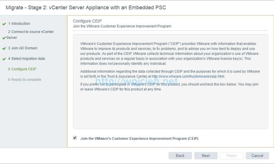 Upgrade of vCenter Server 6.x to vCenter Server 6.5 - 20