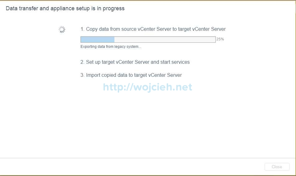 Upgrade of vCenter Server 6.x to vCenter Server 6.5 - 23