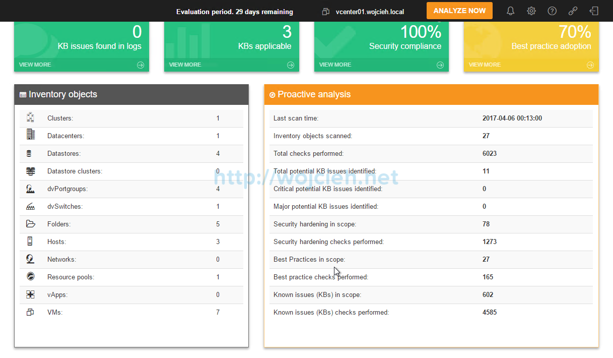 Runecast Analyzer 1.5 review - 6