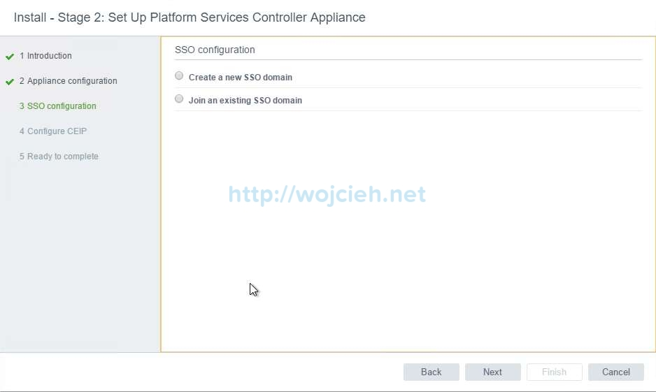 vCenter Server Appliance 6.5 with External Platform Services Controller - 15
