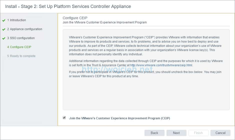 vCenter Server Appliance 6.5 with External Platform Services Controller - 17