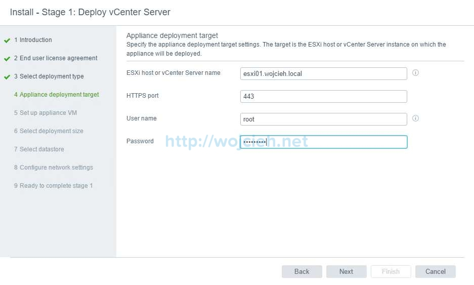 vCenter Server Appliance 6.5 with External Platform Services Controller - 23