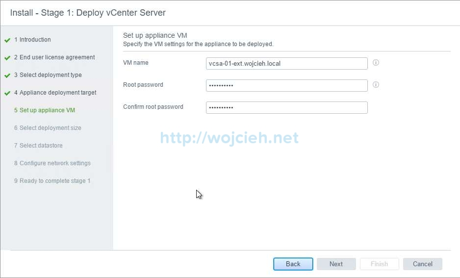 vCenter Server Appliance 6.5 with External Platform Services Controller - 24