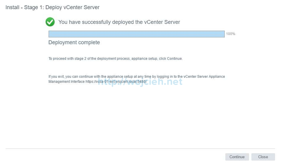 vCenter Server Appliance 6.5 with External Platform Services Controller - 29