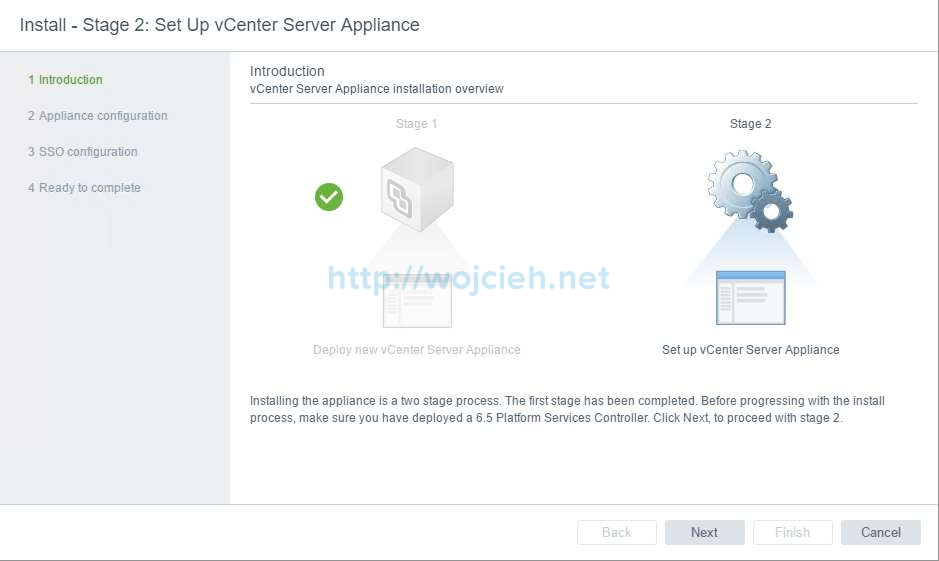 vCenter Server Appliance 6.5 with External Platform Services Controller - 30