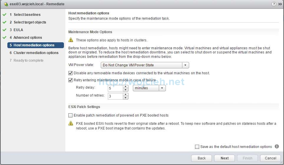 How to upgrade ESXi 6.0 to ESXi 6.5 using VMware Update Manager - 19